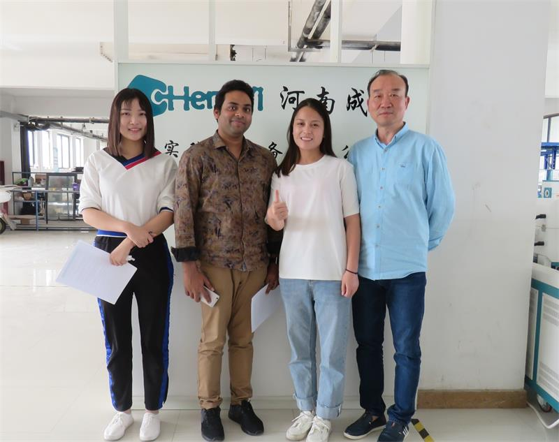 Mr Jahid Come to Visit Our Factory to Start Cooperation