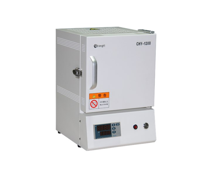 CHY-M1210 Labooratory 1200c Muffle Furnace with 1L Capacity( 100*100*100mm)
