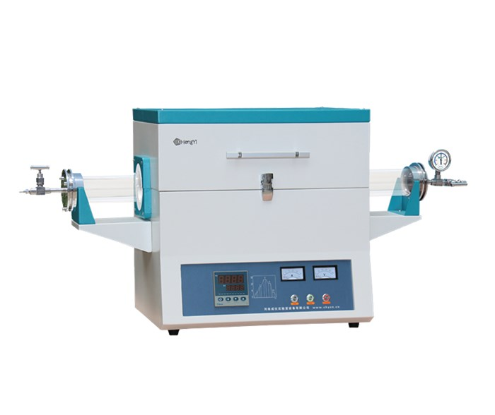 CHY-T12100A 1200 degree Vacuum Horizontal Tube Furnace