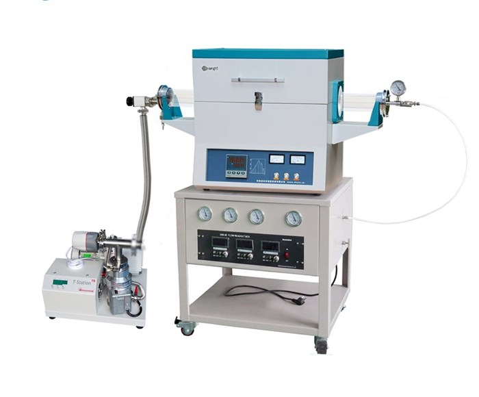 CHY-T12100A-3Z4C 1200 degree CVD system for Garaphene Film Preparation