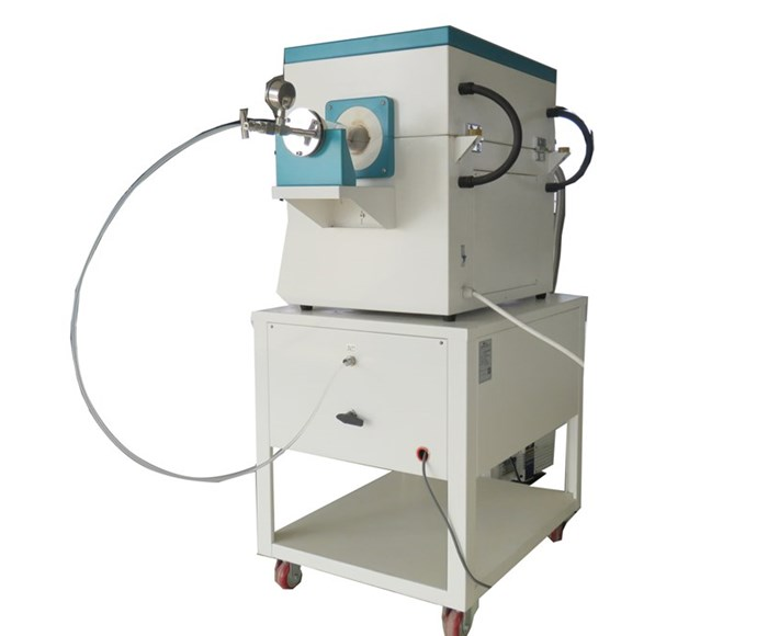CHY-T1250A-3Z4C Laboratory 1200 degree CVD Furnace with O.D50*1000mm Quartz Tube