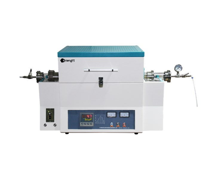 CHY-R12100A 1200 Degree Rotary Tube Furnace with 360 rotating degree
