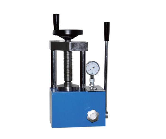 CHY-15T Compact Hydraulic Pellet Press for Glove Box