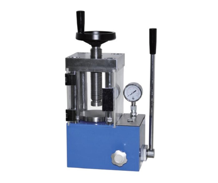CHY-24T Laboratory Powder Press with Protective Cover