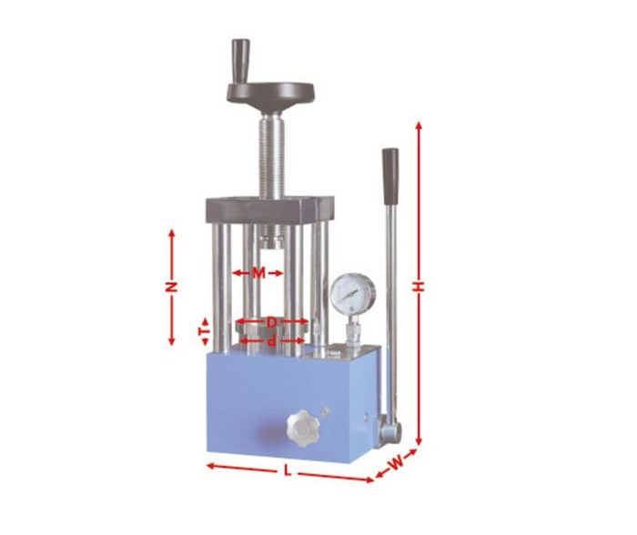 CHY-30T Economic Hydraulic Press with Protective Cover and Digital Gauge