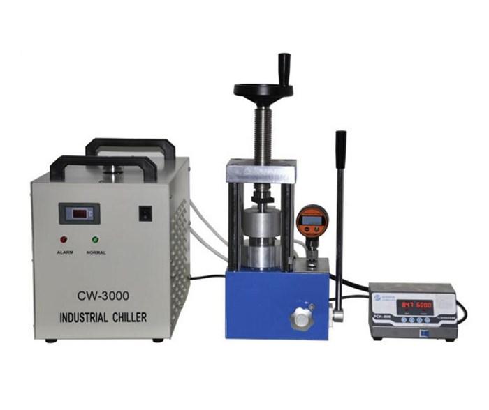CHY-600A Laboratory 24 Ton Heated Press
