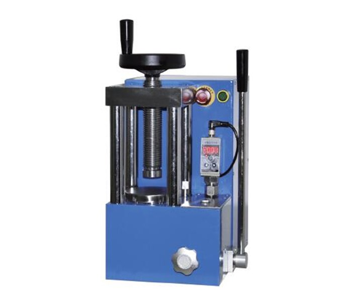 CHY-20S Laboratory 20T Electric Manually Hydraulic Press with Digital Gauge