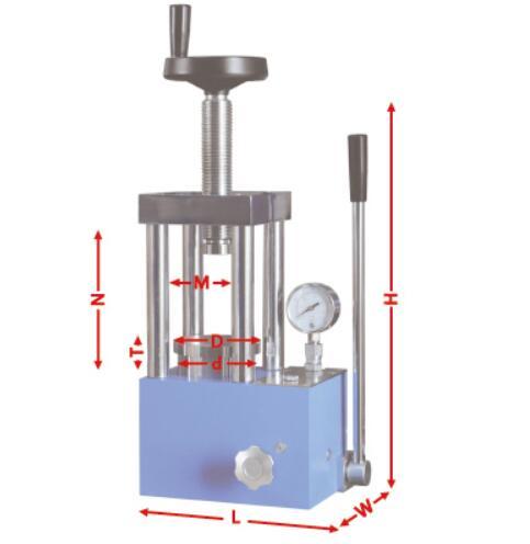 CHY-15T Laboratory Hydraulic Press for Powder Pressing