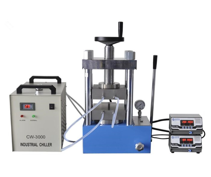 CHY-600D Laboratory 300 degree Double Plate Electric Heating Tablet Press