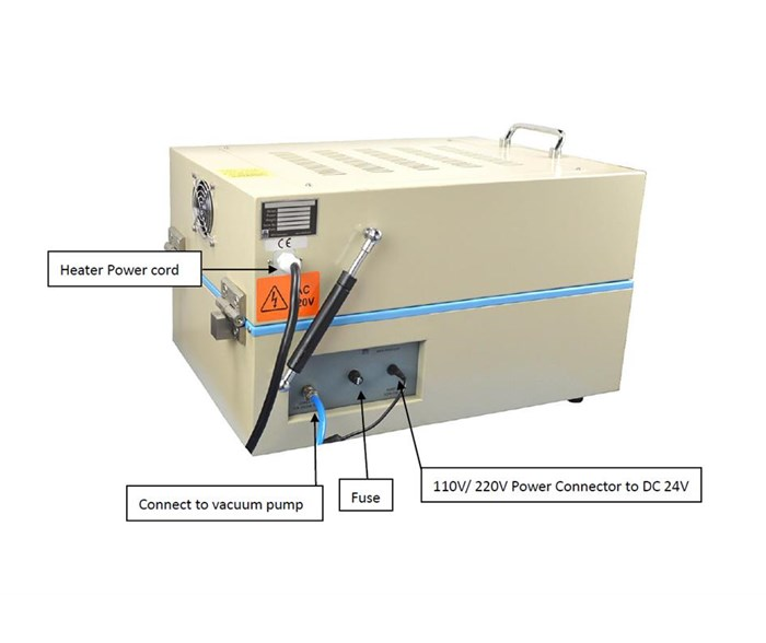 Compact Tape Casting Coater with Vacuum Bed and Film Applicator &100ºC Dryer Cover MSK-AFA-III